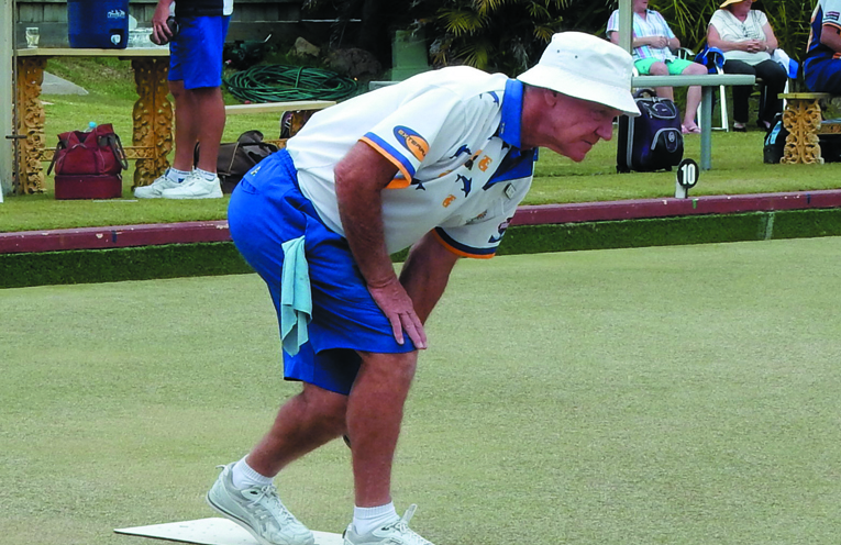 Neil Kibble competing in the Club Major Pairs.