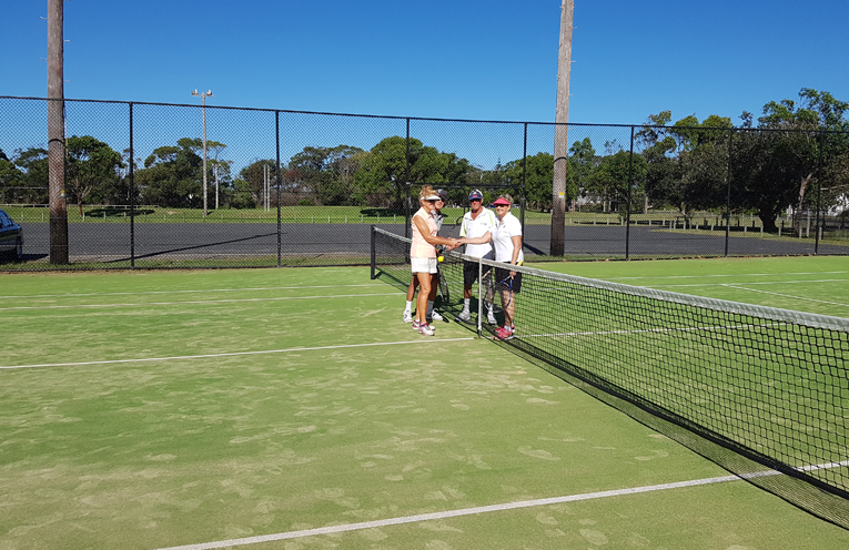 Come along and give tennis a go at the Myall Park Tennis Club open day.