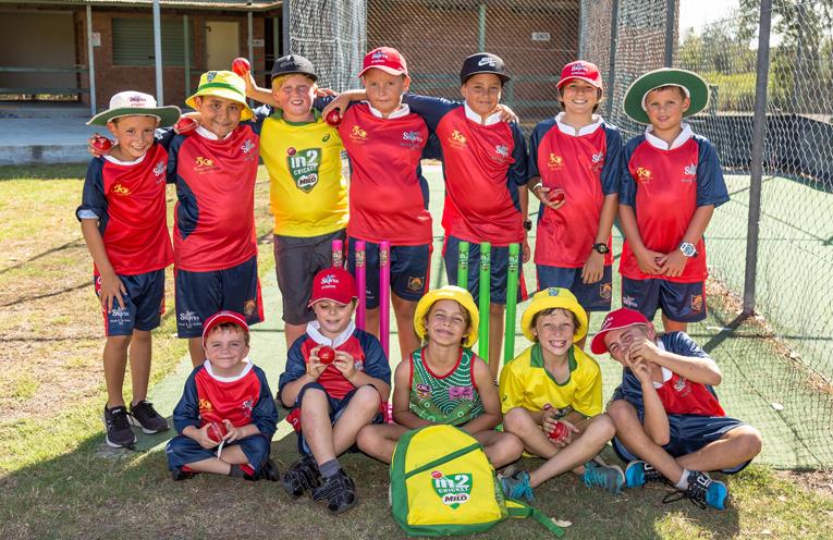 HAVING FUN: Karuah/Tea Gardens District Cricket Club.