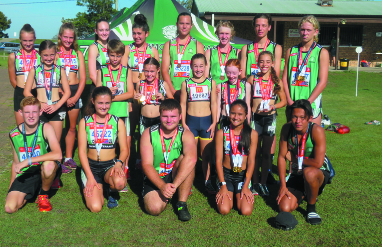 Raymond Terrace Athletics Centre champions; headed to state.