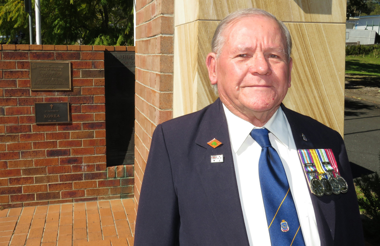 Veteran Peter Millen reflects on his years of service.