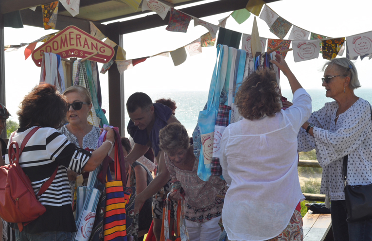 BOOMERANG BAGS: 1st Birthday Celebration at Bennetts Beach.