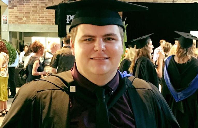 Graduate Mitchell Blanch.