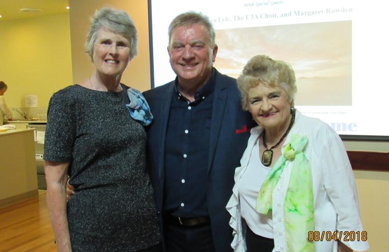 GREYFEST: Barbara Lyle, Michael Harvey and Margaret Rowde.