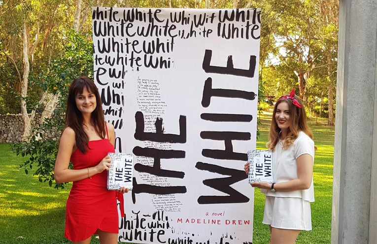 Madeline Drew and Nicole Thompson, Author and Editor of 'The White'.