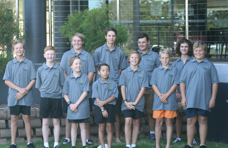 Junior Pennant team.