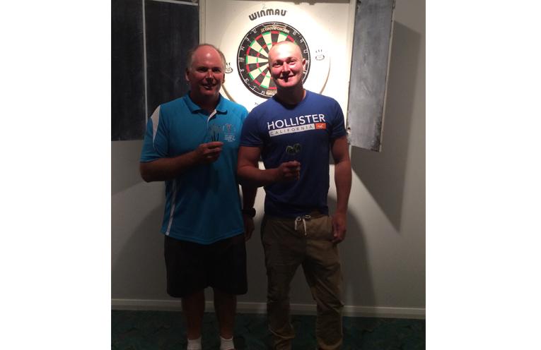 Darren Rapley and Paul Bennett.
