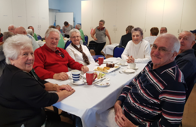 MEALS ON WHEELS VOLUNTEERS: Morning Tea Celebration.