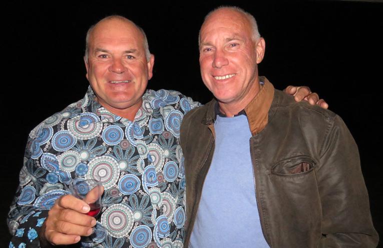 Al Freihaut and Rodney Davis.