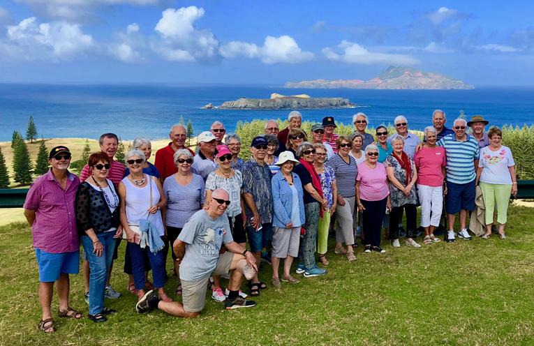 The Tomaree Probus Club at Norfolk Island