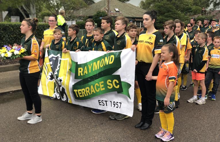 Raymond Terrace Soccer Club.