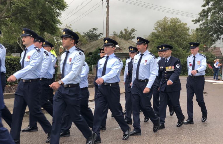 Air force personnel.