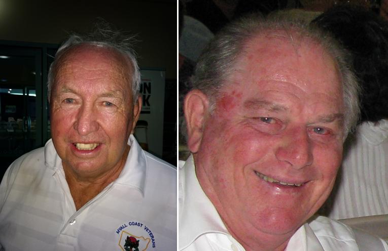 A Grade winner Denis Downie. (left) B Grade winner Lee Rankin. (right)