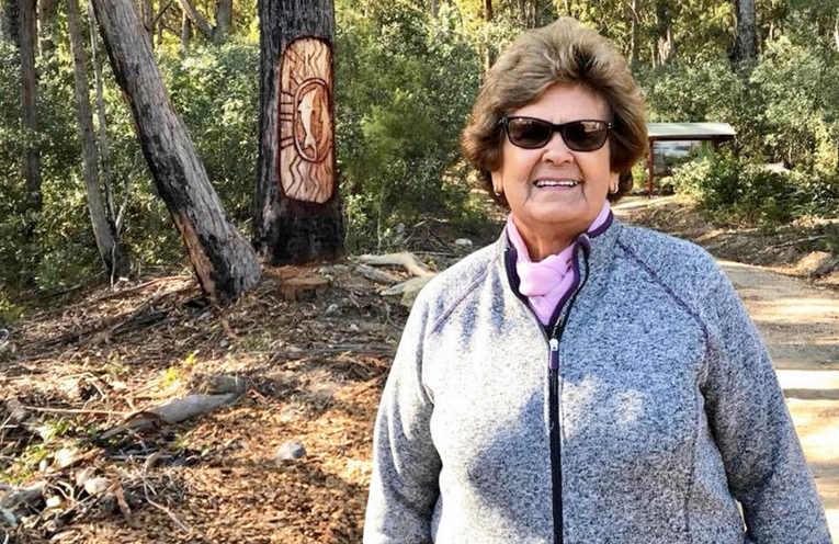 Aunty Bev Manton gave the Welcome to Country. Photo: Supplied