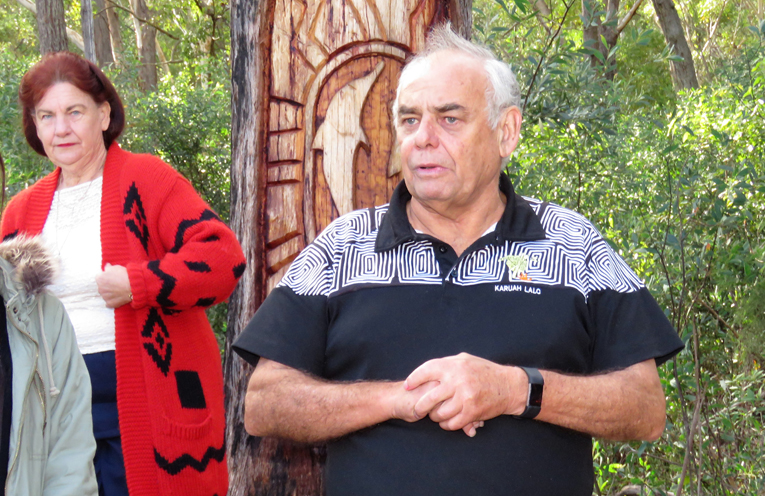 Karuah Aboriginal Land Council CEO Len Roberts.
