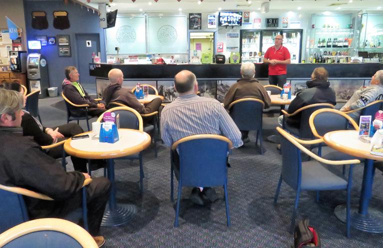 Staff training session at Bulahdelah Bowling Club.