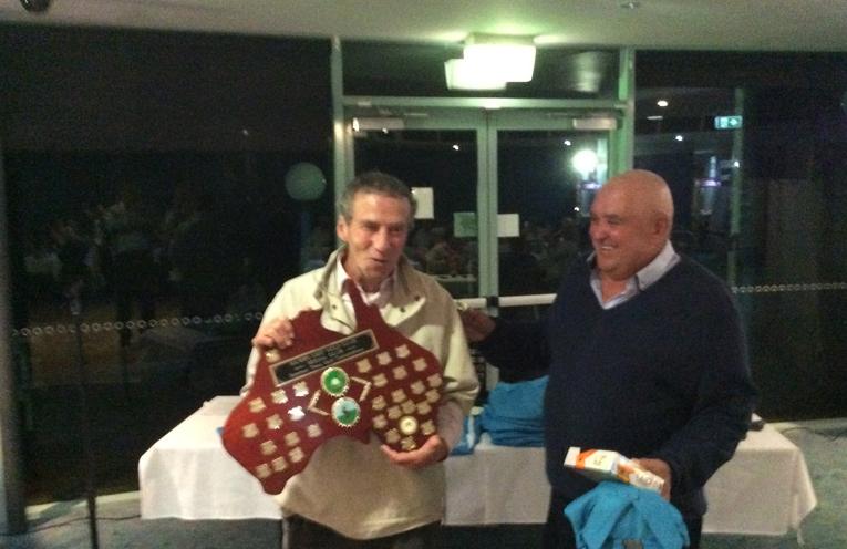 Mick Talty Golfing Champion.