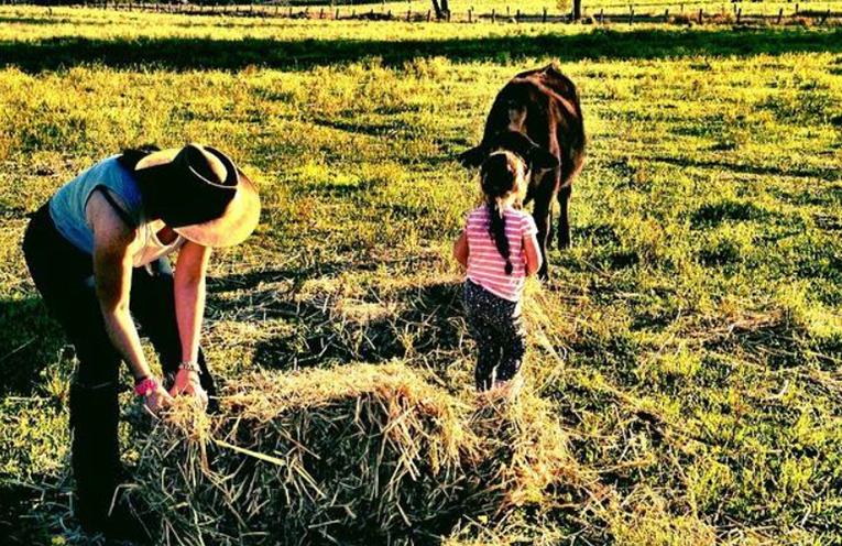 New South Wales farmers will benefit from Medowie's generosity.