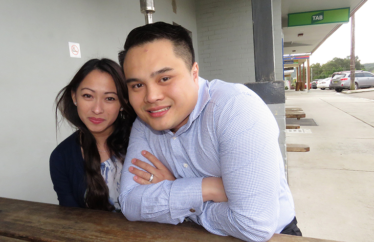 Lucy and Anthony Tan are ready to revitalise the Plough Inn Hotel.
