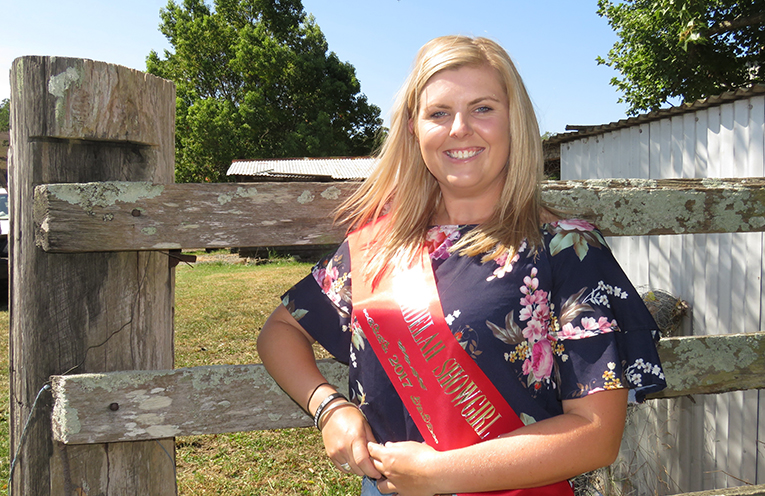 Reigning Bulahdelah Showgirl Richelle Levey said the contest is an amazing experience.