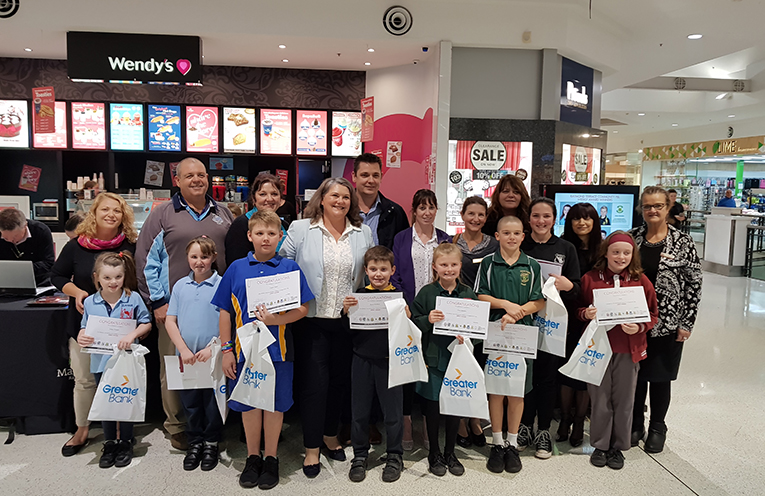 This week's winners were presented with their awards by Meryl Swanson, Federal Member for Paterson.