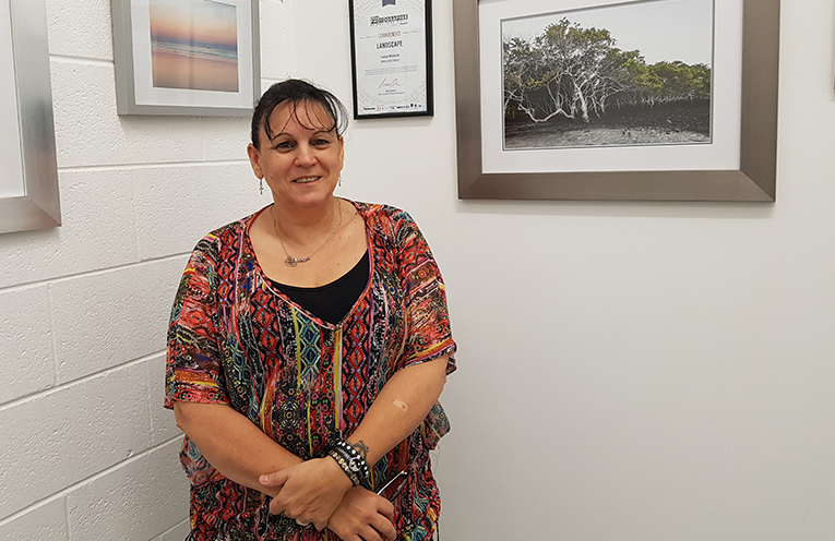'BEYOND THE LENZ': Owner Louise Richards.