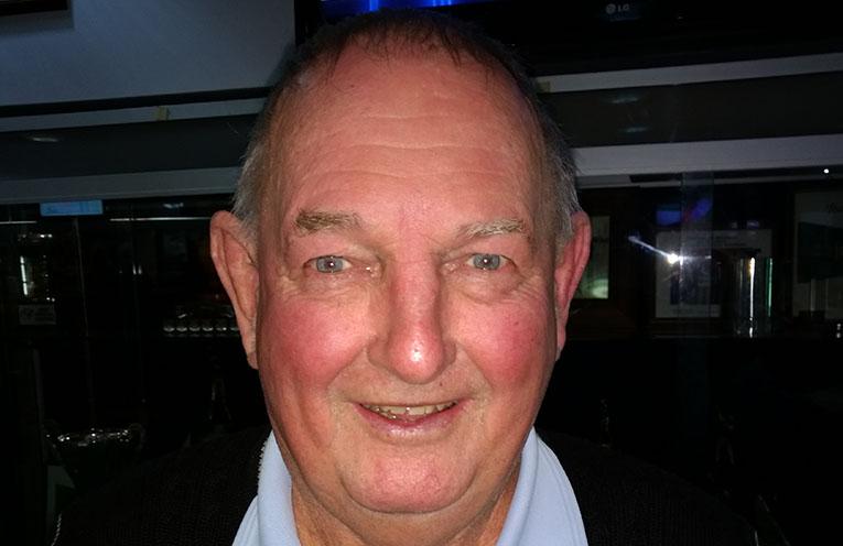 Back nine winner Don Henderson.