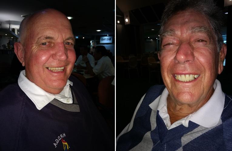 A Grade Winner Col Bagnall. (left) B Grade Winner Alan Greenhalgh. (right)