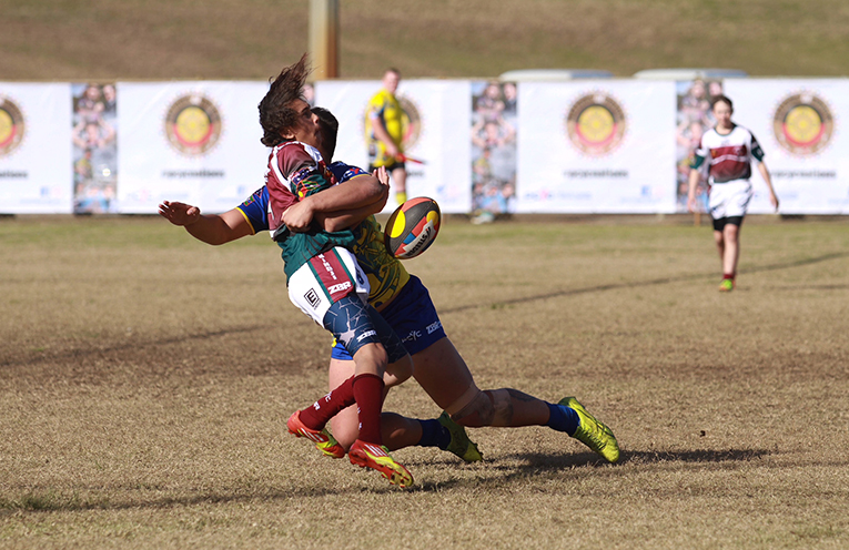 Competition was fierce when Indigenous nations competed in Nations of Origin 2018.
