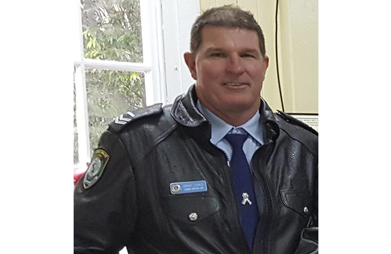 Senior Constable Dave Coyle.