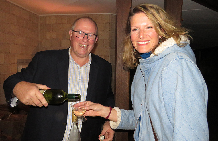 Local Wine: Dale Bradshaw from Old Inn Road Vineyard with Naomi Patton.