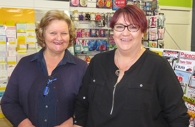 Sue Chick and Pauline Gregory are going to miss their customers.