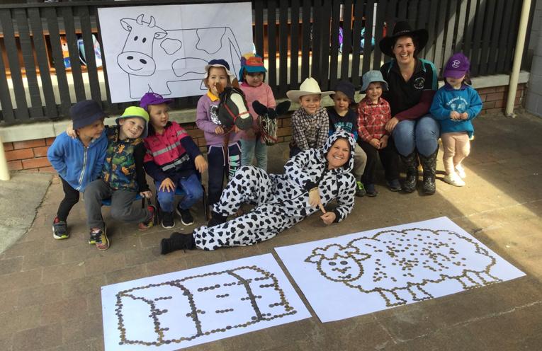 Staff and Students of Raymond Terrace Community Preschool.