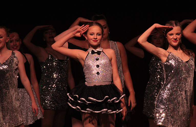 Students performed with precision, showcasing their skills and passion.