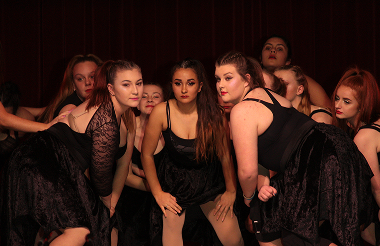 Senior students, some in their last Showcase performance of their time in high school, gave moving performances.