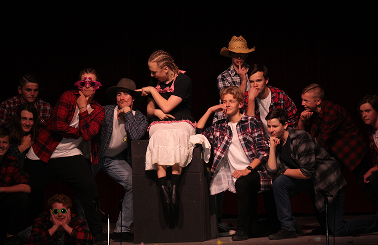 The tale of 'Betty Lou' was a crowd favourite, and left the crowd in stitches.