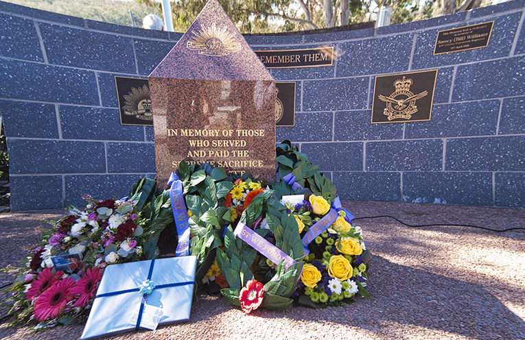 KARUAH WAR MEMORIAL: Vietnam Veterans Day Service, Photo Courtesy Jack Drake.