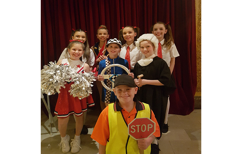Dancers and performers from Medowie Public School.