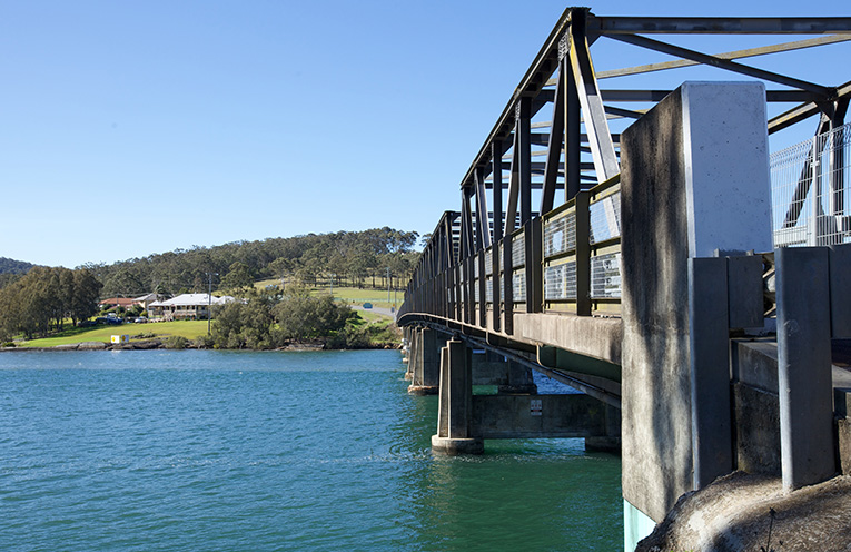 Karuah Bridge. Photo by Simon Wilson