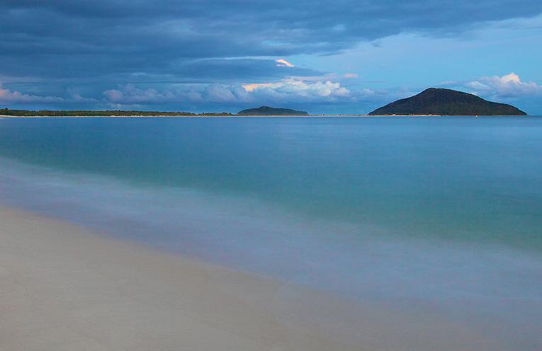 Jimmy's Beach on dusk. Photo by Simon Wilson