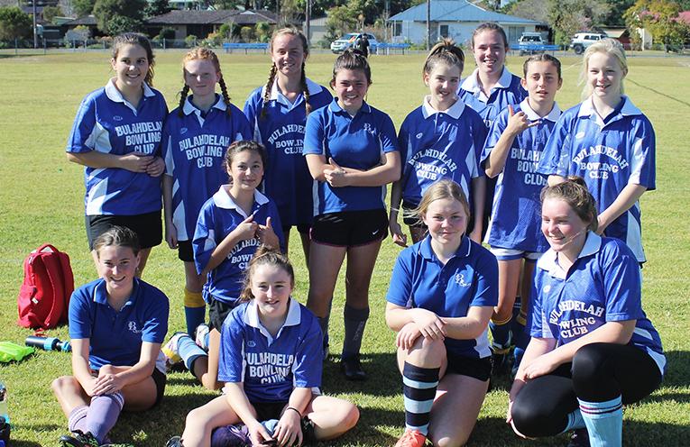 Victory: Bulahdelah Girls Soccer team defeated Gloucester.