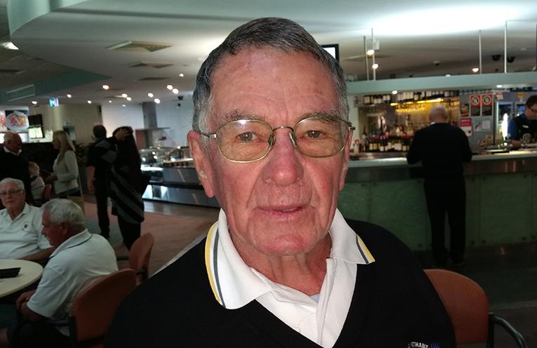 B Grade winner Graham Kelly.