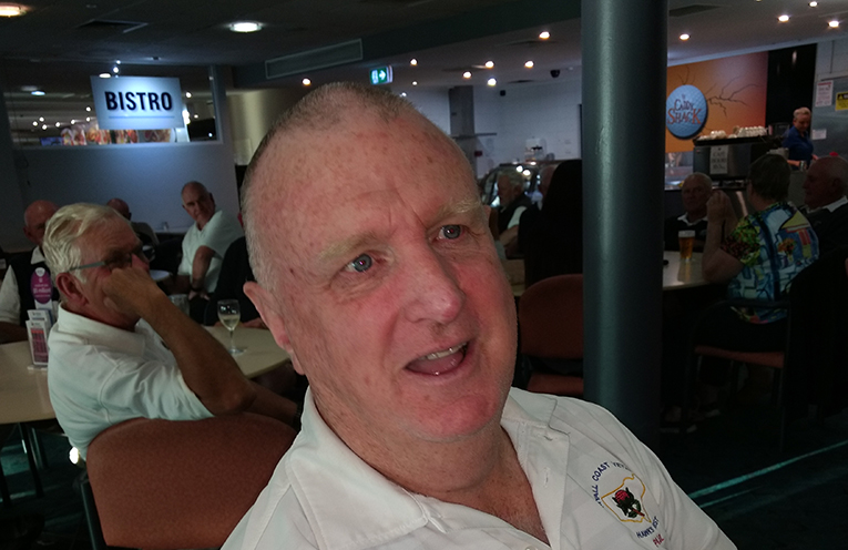 C Grade winner Paul McLean.