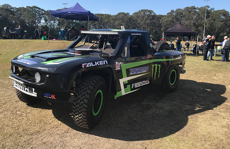 Glen Towers Off Road Racing treated spectators to a viewing of some of their off road racers at the Charity Rugby Day at Boyd Oval.