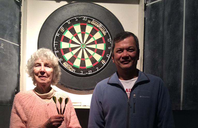 Grace Oldfield and James Ureta.
