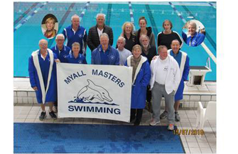 NSW MASTERS COMPETITION: Myall Masters Swimming Team