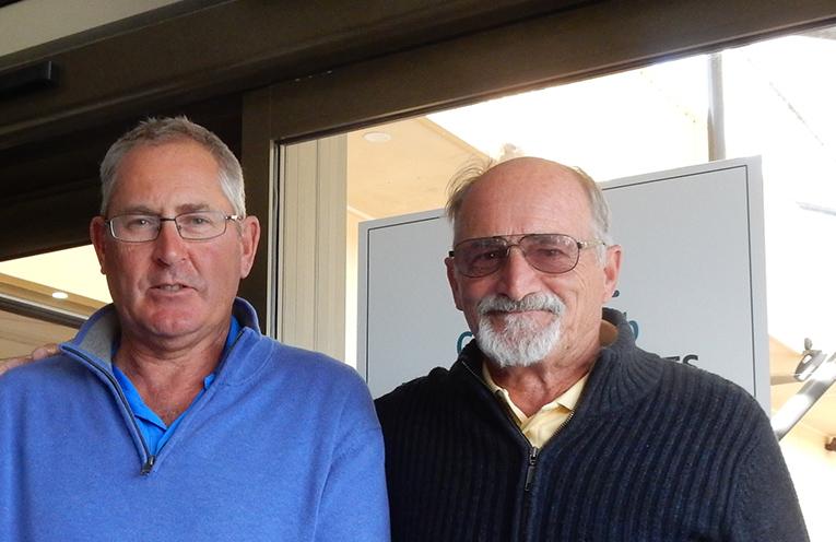 Mattara representatives, Ken Devlin and Col Saillard.