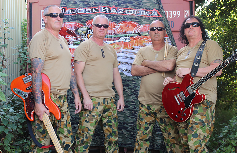 Loose Bazooka are bringing back old school Pub Rock.