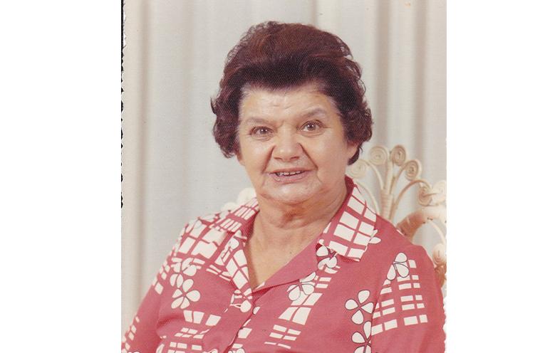 Nana Syron, Pauline's Nana, who the bridge into Bulahdelah was named after.