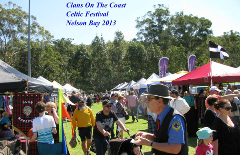 The stalls at Clans. Images supplied by Clans on the Coast.